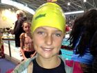 Elise Fowler shined at the swimming carnival at Homebush.