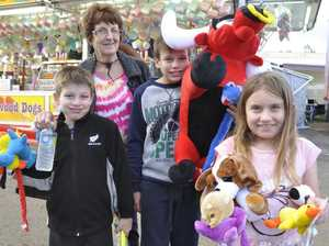 Smaller crowds mean more fun for Graham family at Royal Show