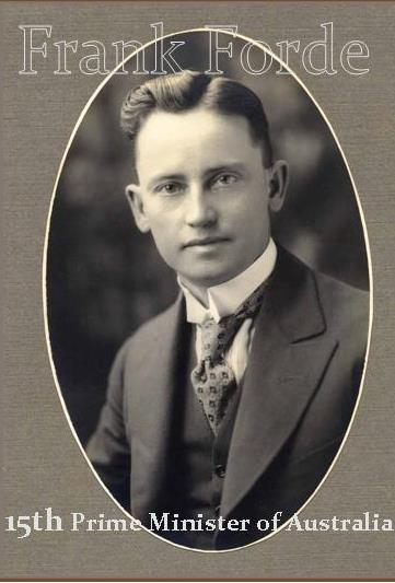 An exhibition honouring Mitchell born Prime Minister Frank Forde opens in Mitchell tomorrow.