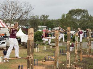 Woodchop at Toowoomba Royal Show