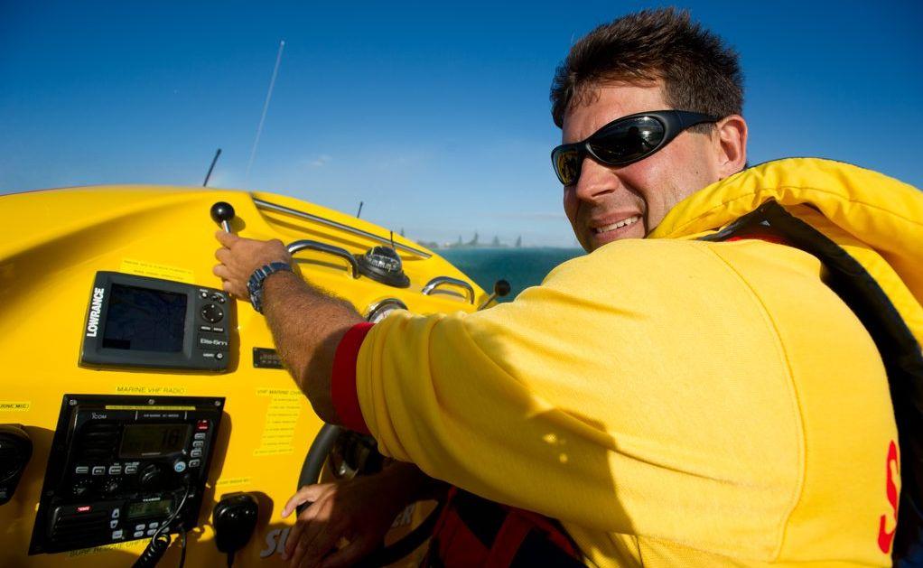 Jet Boat skipper Mark Puglisi.