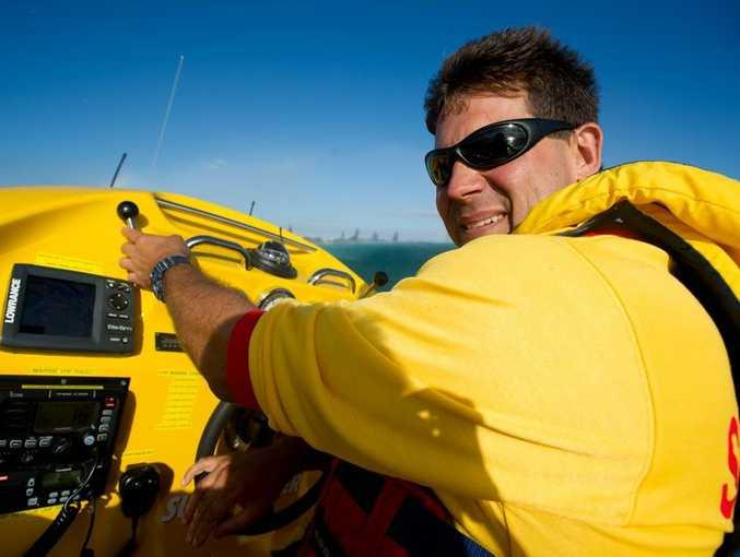 Ballina Jet Boat skipper Mark Puglisi