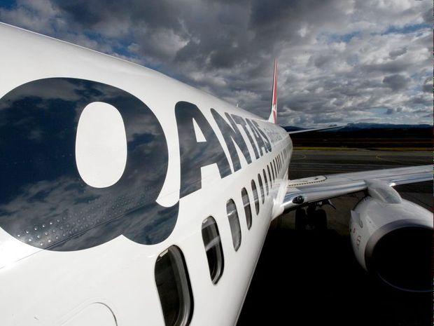 Qantas... facing tough times.