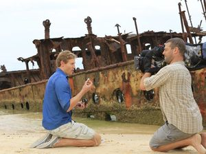 Bondi Vet has been filming travel segment on Fraser Island