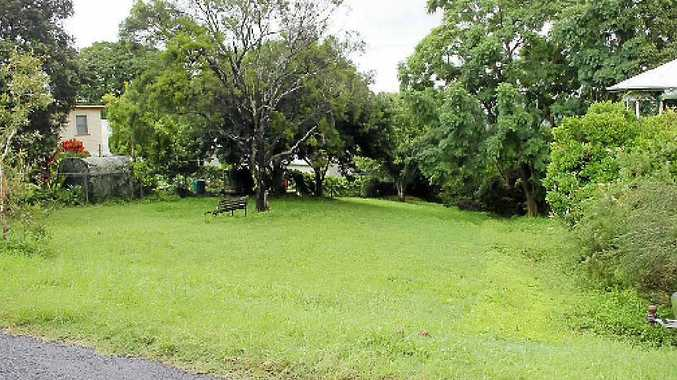 CHOPPING BLOCK: One of the small parks Lismore Council may sell off in Lismore.