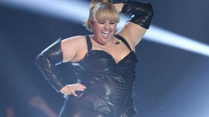 Rebel Wilson performs at the MTV Movie Awards.