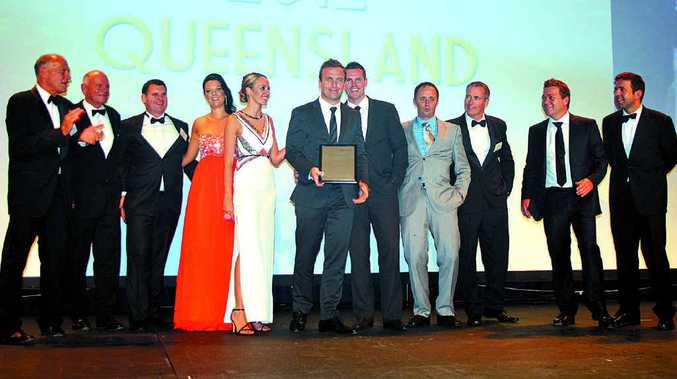 The Ray White Maroochydore team named No 9 office for sales at the 2012 Ray White Queensland annual awards.