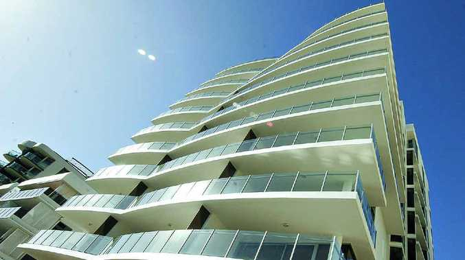 The $70million Sea Pearl residential development now graces the Mooloolaba skyline.