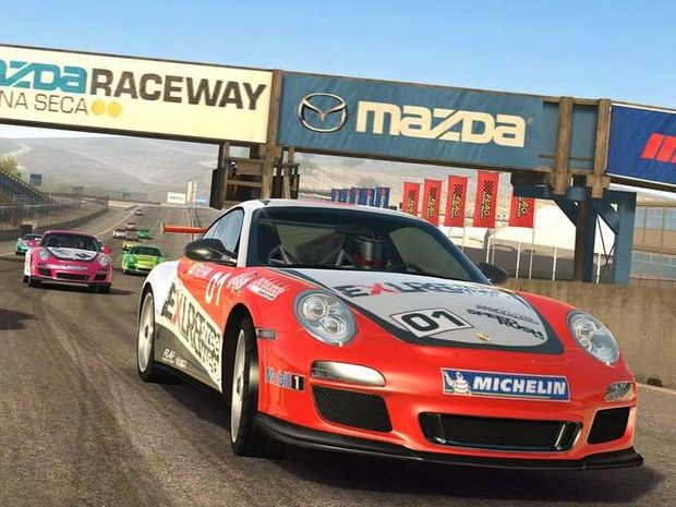Real Racing 3 features some eye-popping graphics.