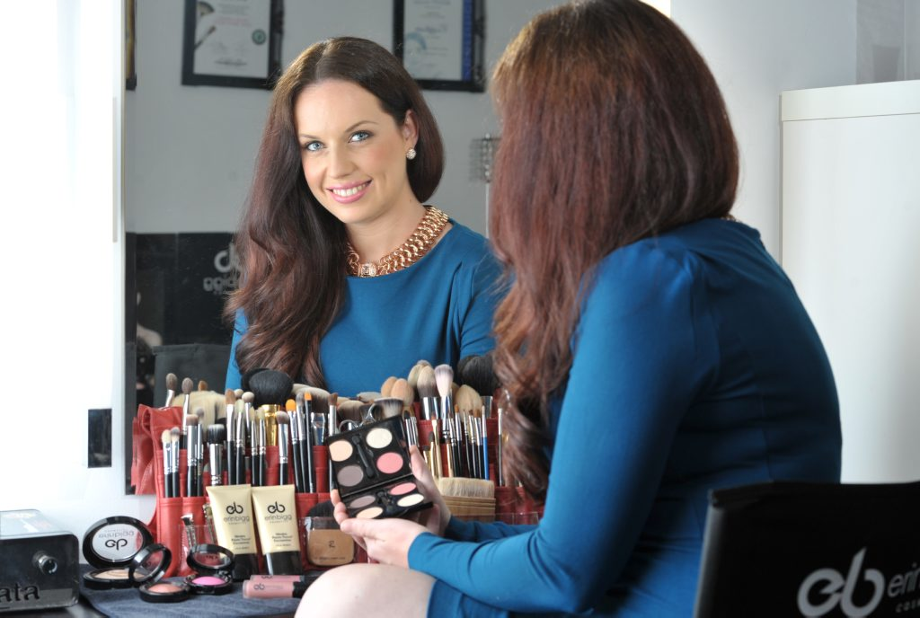 Erin Bigg has launched her own cosmetics line and was a 2012 makeup artist of the year finalist.