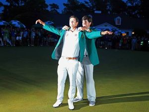 Adam Scott 'hottest Masters champion ever', says wife