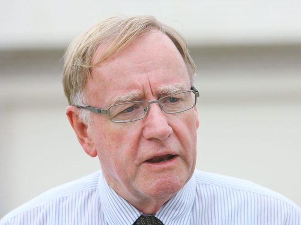 Senator Ian Macdonald is unhappy with deficit levy