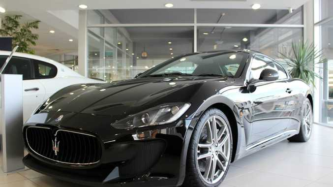 The 2013 Maserati GranTurismo MC Stradale.