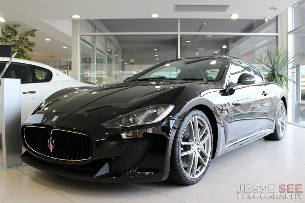 The 2013 Maserati GranTurismo MC Stradale.