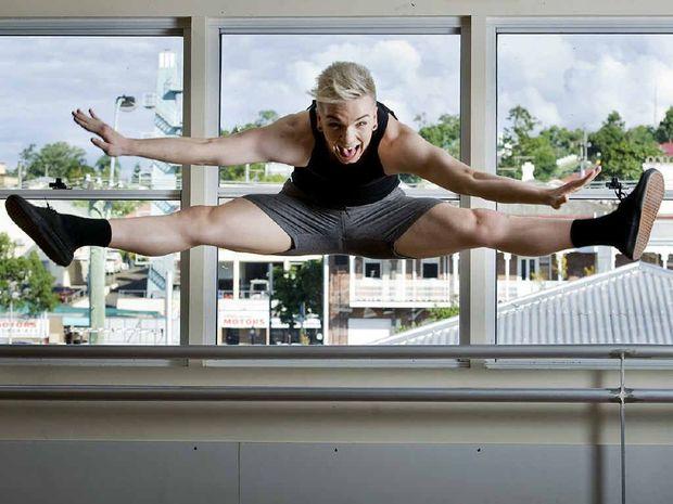 Ipswich dancer Harry Bracken is going to work at Disney World as either Tigger or Goofy.