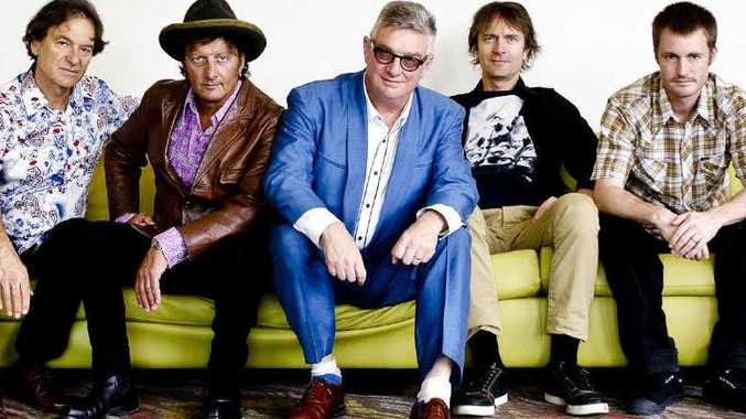 On Sunday, Mental As Anything will headline the free Rise and Shine community concert at the Maryborough showgrounds.