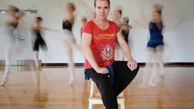HE'LL BE BACK: Choreographer Robert Kelly has just completed a workshop at Byron Ballet.