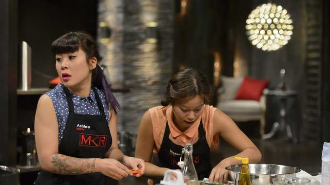 Ashlee and Sophia falter in their sudden death cook-off.