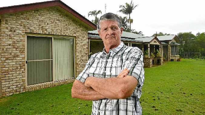 Mark Weir faces losing his home.