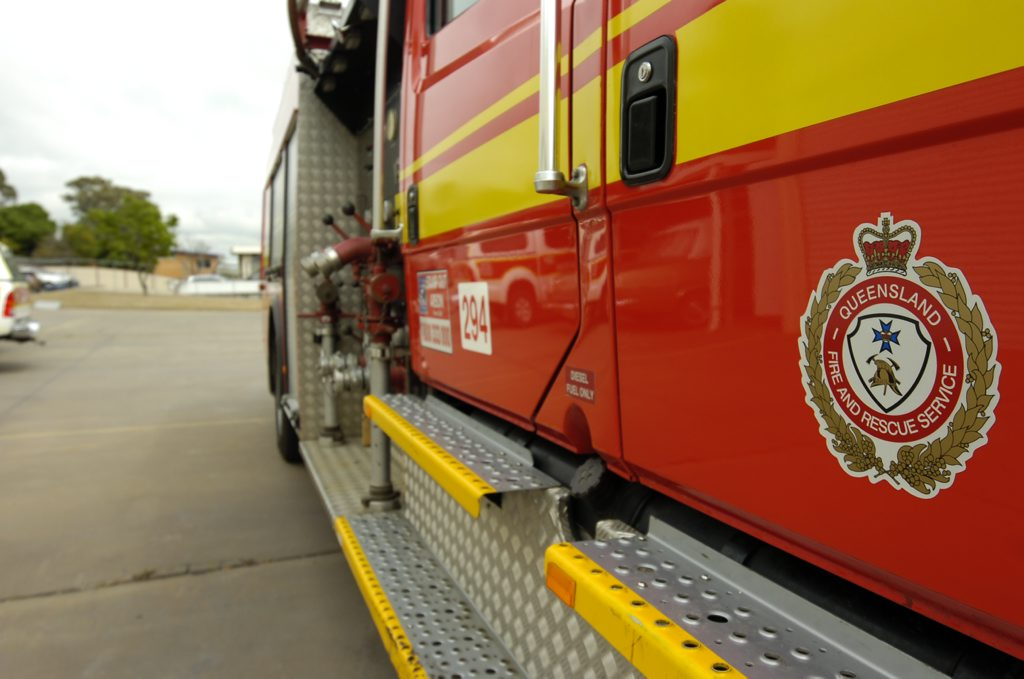 A woman has died after a fire at Southport.