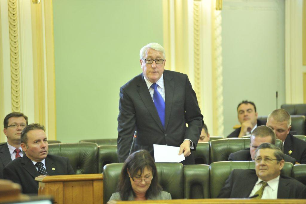 Former Ipswich MP Ian Berry.