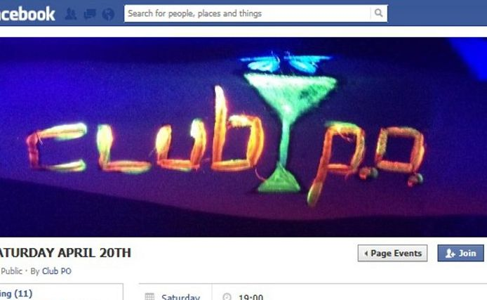The event on the Club PO Facebook page is now called My Birthday.
