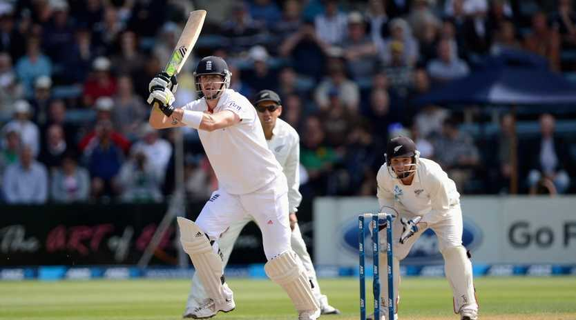 Kevin Pietersen, seen batting here against New Zealand - the team he believes will win the upcoming World Cup - led Stars assistant coach Trent Woodhill to label him