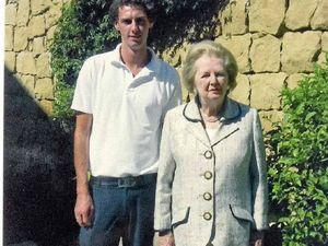 Aaron was Thatcher's home chef
