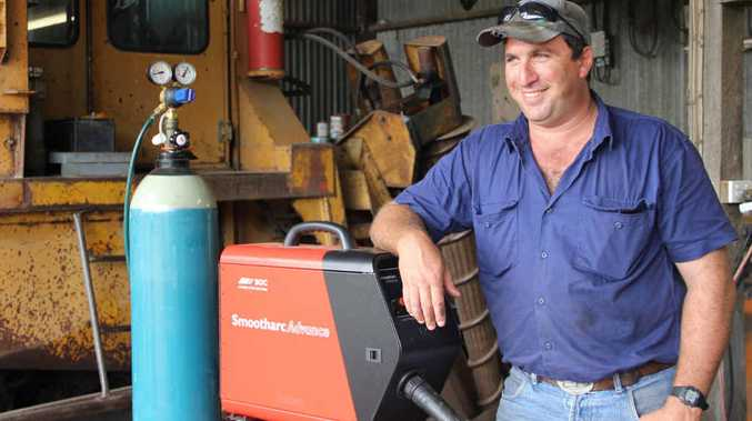 ON THE LAND: Andrew Camilleri worked in the mining industry as a fitter but returned to take over the family cane farm.