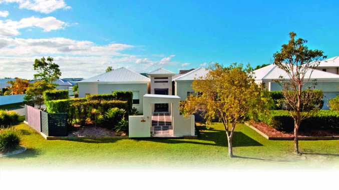 113 Mahogany Dr, Pelican Waters, is a modern home featuring a parents' retreat with spa.
