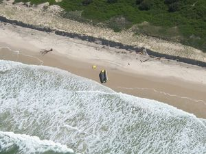 Marine Rescue boat still stuck on South Ballina beach