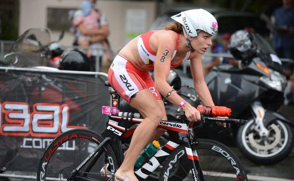 Caroline Steffen claimed third in the Samui Triathlon.