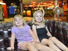 Sarah Heard, 2 and sister Addison, 4 at the Yaralla Sports Club. Photo Christopher Chan / The Observer