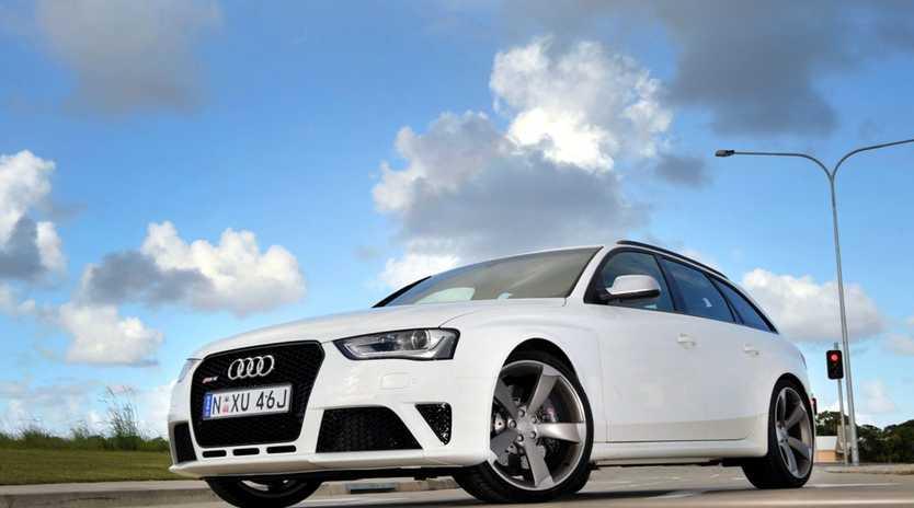 The breathtaking Audi RS4 Avant.
