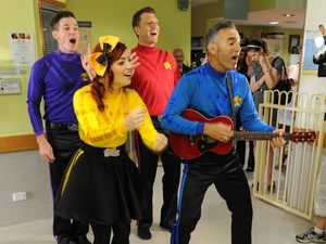Sick kids get special dose of the Wiggles