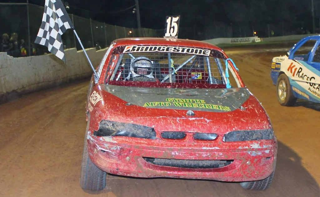 Gympie's Queensland production sedan champion, Tim Atkin, is racing in the Victorian Titles.