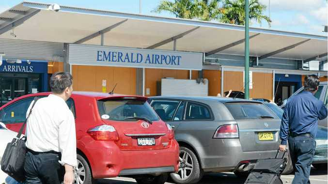 UP FOR SALE: The Emerald Airport is one of the assets that could be sold off by the Central Highlands Regional Council.