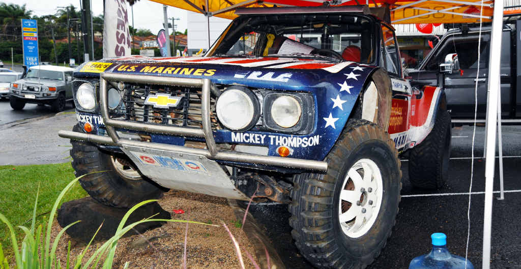 Mickey Thompson's 1975 Chevy LUV.