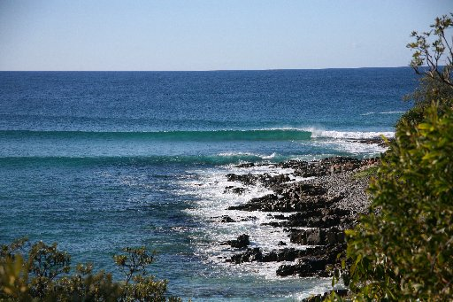Noosa National Park's Granite Bay area.