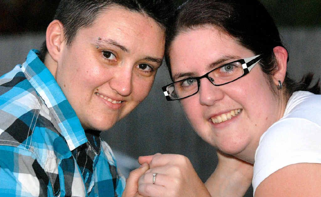Mackay residents Krystan Bird and Jess Morrison will travel to New Zealand in March to marry one another.