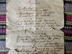 Naval veteran finds WWI letter in box