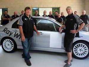 Menzies tackles Tassie Targa tarmac car rally