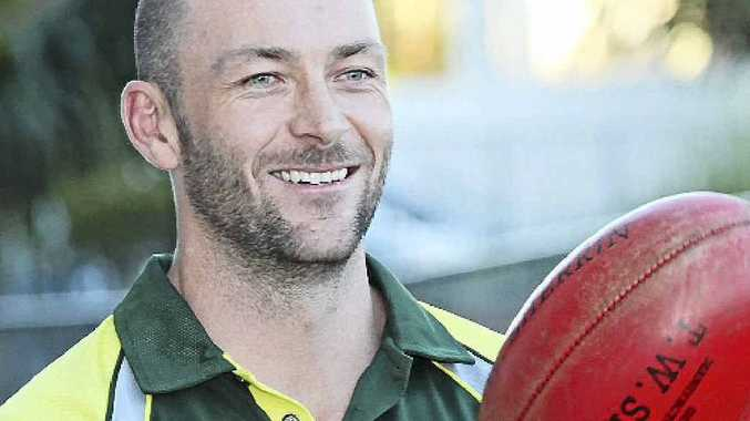 New Maroochydore Roos captain Michael Roberts has been a star of Victorian country footy for the past decade.