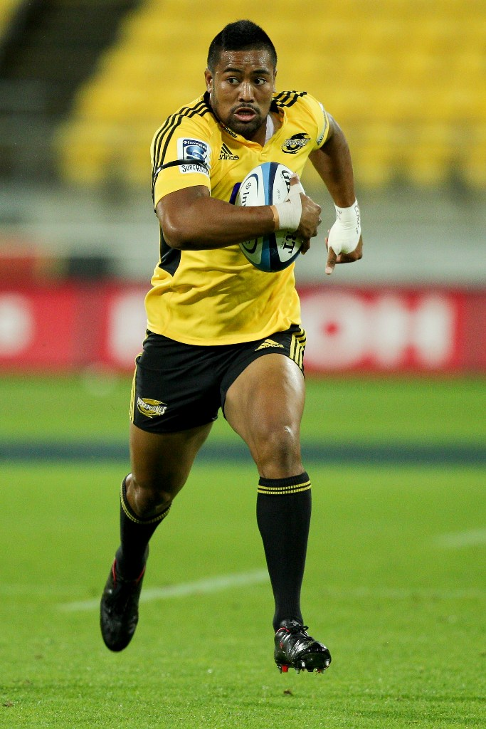 Julian Savea of the Hurricanes.