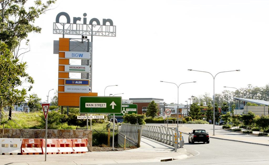 Orion Shopping Centre.