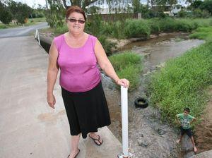 Creek desperately needs flood signposts, says Kabra mum