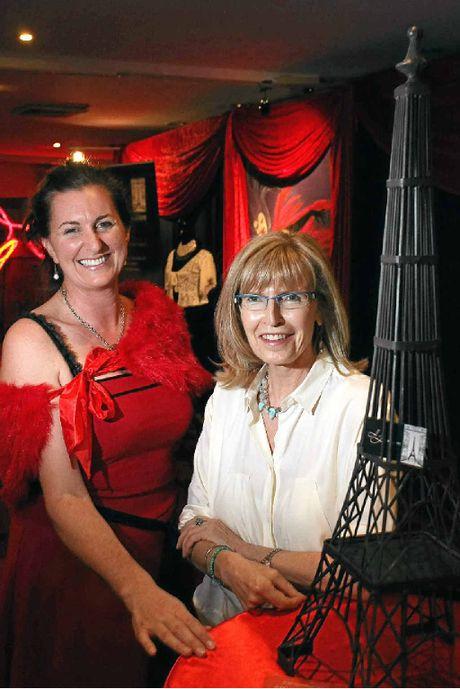 President Margaret Fairhurst and vice-president Christine Maudy of Alliance Francaise.