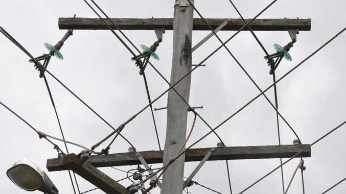 POWER OUTAGE: Storms cut power to hundreds of residents this morning.