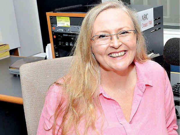 ABC radio announcer Mary-Lou Stephens