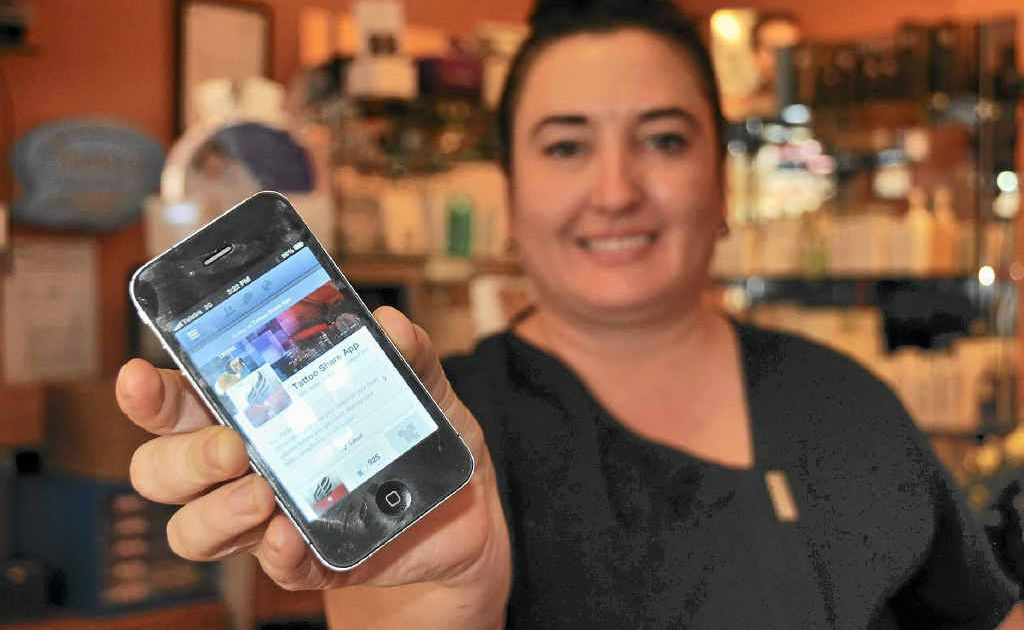 Jodie Balfour from Isis has launched her very own app – Tattoo Share.